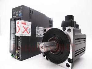 Delta 1KW 3.18Nm 100MM AC Servo Motor Drive Kit ASD-B2-1021-B+ECMA-C21010RS NEW