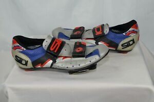SIDI • Cycling Shoes (Size 39) Men's 7/Women's 8.5 Hook Loop • VGUC