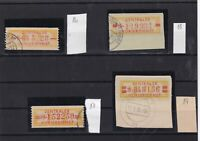 germany 1958  central courier service used stamps ref 10811