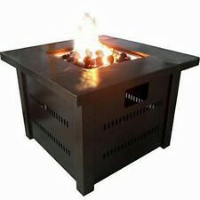 Outdoor Fire Place Pit Table Back Yard Garden Patio Heater Propane Butane Gas US