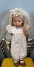 """Original Heidi Ott bride doll made in Switzerland 20"""" retail $290.00"""