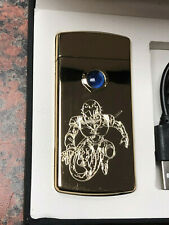 JoJo Red Hot Chilli Pepper PLASMA LIGHTER arc gold JJBA Bizarre *FREE ENGRAVING*