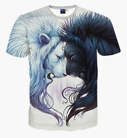 3d Tops Animal Funny Printed Women Men t Shirts Short Sleeve Casual Tee New