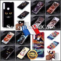 Coque Etui housse FASHION STYLE Animals TPU Souple Case Cover Huawei P Smart Z