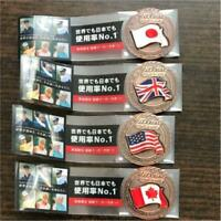 Titleist Original National Flag Golf Ball Marker 4 kinds Japan UK USA Canada New