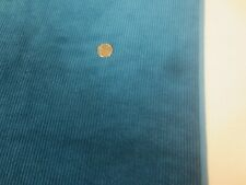 "2732. Deep Teal Wide Wale Apparel or Craft Corduroy Fabric - 42"" x 5 1/8 Yds."