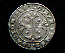 1618/23 Venezia Antonio Priuli Italy rare silver coin high quality