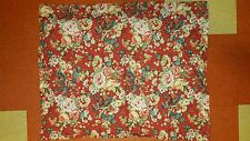 """Pottery Barn """"Mia Floral - Red"""" Standard Pillow Sham"""
