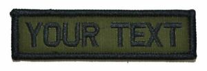 Custom 4x12 Military//Police Patch Hook Backing