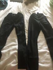 Place boys pants size 16 black lot of 2 uniform pants