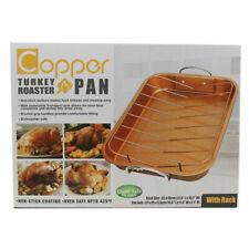 Copper D02725 H-02725-wv Turkey Roaster Pan Size One Color