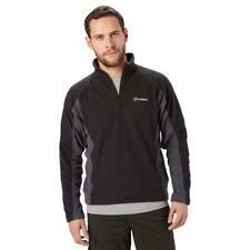 Berghaus Men's Hartsop Half Zip Fleece Outdoor Clothing Black L
