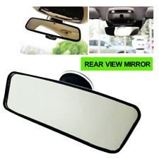 Universal Rear View Interior Car Mirror Adjustable Suction Cup Wide Safety MD