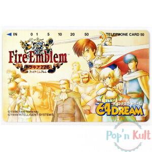 Telecard Fire Emblem : Thracia 776 The 64 Dream Super Famicom [JAP] Nintendo NEW