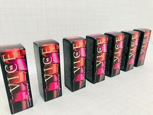 Urban Decay Vice Lipstick - New with box - Choose your shade + Finish - RRP: £18
