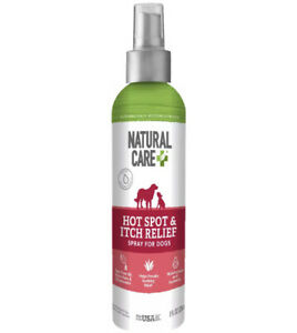 Natural Care Hot Spot & Itch Spray for Dogs Itch Relief All Natural NEW