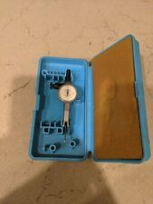 Fowler 52 560 005 Jeweled Dial Test Indicator With Case 0005 Made In England