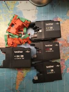 EMPTY Brother LC1280XL Original Ink Cartridges 2 Black 2 Cyan 2 Magenta 3 Yellow