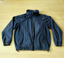 GANT East Coast Yach Club Men's Blue Wind Cheater Jacket Fold up Hood Size M