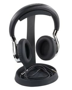 Support universel pour casque audio avec plateau spécial câble - Auvisio