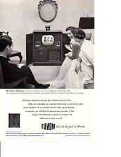 1950 DUMONT TELEVISION / PHONOGRAPH / RECORD PLAYER ~ ORIGINAL PRINT AD
