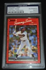 1990 Donruss Sammy Sosa Signed Rookie Card Autograph RC Auto PSA/DNA  Cubs Sox