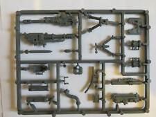 CADIAN HEAVY WEAPONS SPRUE Mortar Lascannon Etc Warhammer 40K Astra Militarum