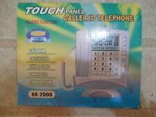 Touch Panel Caller ID Telephone-Talking Function, Calendar, Calculator, Temp