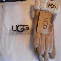 UGG Women's winter gloves - beige - brand new