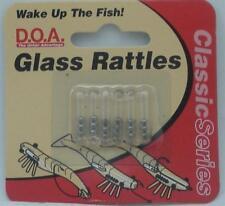 DOA 62-003 Small Glass Rattles 6CT 21006