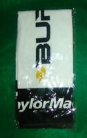 "NEW Taylormade Burner Golf Bag Hanging Towel 24"" x 16"" (driver,hybrid,fairway)"
