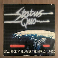 STATUS QUO Rockin' All Over The World 1977 UK vinyl LP EXCELLENT CONDITION A