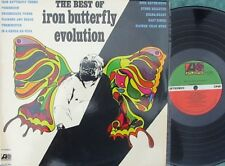 Iron Butterfly ORIG OZ LP Best of Evolution VG+ '71 Atlantic Prog Rock Acid Rock