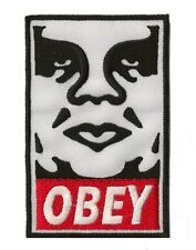 Ecusson patche OBEY street art patch thermocollant