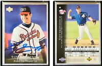 Tony Graffanino Signed 1995 Upper Deck Minors #46 Card Atlanta Braves Auto