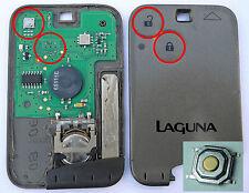 Reparatursatz Renault Laguna Keycard Schlüssel Fernbedienung Taster Mikrotaster