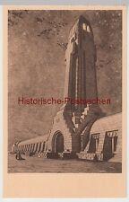 (106059) Künstler AK Beinhaus von Douaumont, Leuchtturm, aus Kartenheft, ab 1932