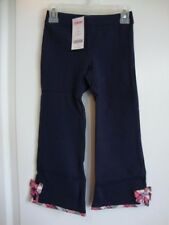 GYMBOREE NEW YORK GIRL Navy Blue Pants with Plaid Trim Girl Size 4 NWT - Fall