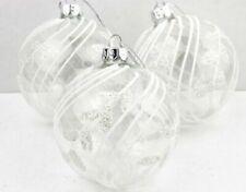 Decorazioni trasparente di palla per albero di Natale