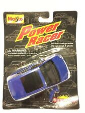 Maisto Mercedes-Benz A140 Blue Model Car Power Racer Sealed NEW Diecast 1996