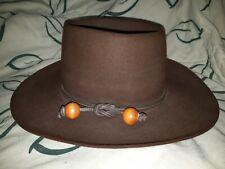 Vintage Stetson 8 X style bolo  color buffalo Brim HC Winchester hat size 6 7/8
