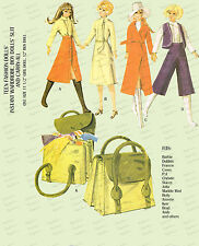 Vintage Barbie,Ken 11 1/2 and 12 inch doll Clothes Sewing Patterns - 2580