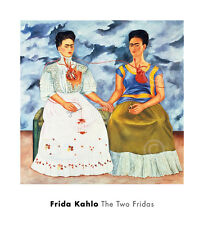 The Two Fridas, 1939 by Frida Kahlo Art Print Poster 20x22