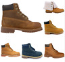 Kids Timberland Leather Lace Up Ankle Boots UK Sizes Youth Juniors New