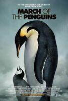 Marzo Of The Penguins (una Cara) Regular) (2005) Original Cartel de Película