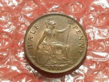 1933 George V half-penny.