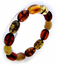 Women's Wrist Band real amber from the Baltic Sea Olives Bangle Quality Chain