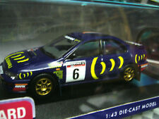 SUBARU Impreza WRC 555 Burns RAC GB Rallye #6 1995 Corgi Box 1:43
