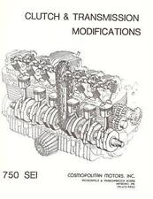Benelli 750 Sei 6 cyl. clutch/gearbox modification list