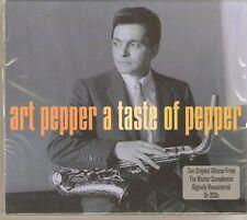 ART PEPPER A TASTE OF PEPPER 2 CD BOX SET